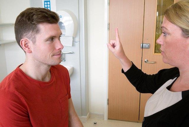 Oculomotor-examination