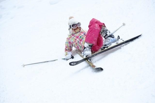 ski-falling
