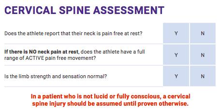 cervical-spine-assessment